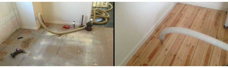Eksempler på opgaver med isolering af gulve